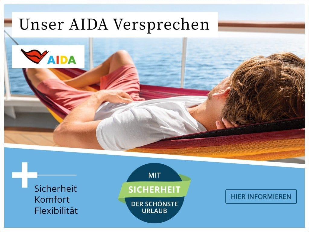 AIDA Reisen im Herbst und Winter 2020