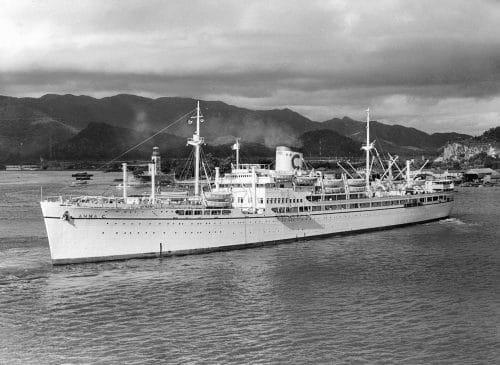 Anna C, das erste Costa-Kreuzfahrtschiffe / © Costa Kreuzfahrten