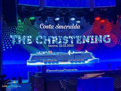 Costa Smeralda Taufe