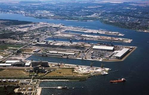 Hafen Rostock-Warnemuende / © Fotoautor- Rostock Port / nordlicht 2008