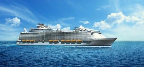 Harmony of the Seas - Buagleich zur Wonder of the Seas / © Royal Caribbean International