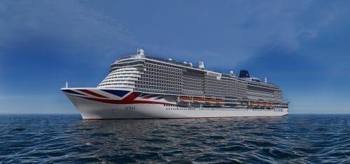 Der erste Helios Neubau für P&O Cruises: Die MS Iona / baugleiche Schwester der P&O Ariva / © P&O Cruises