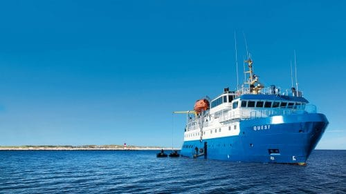 MS Quest / © Adler Expedition