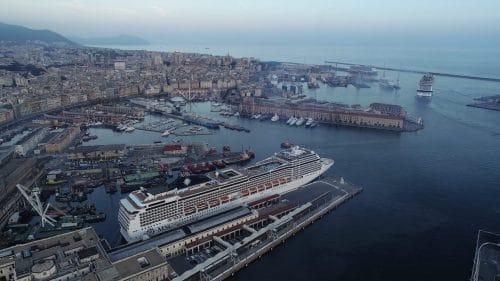 MSC Grandiosa in Genua © MSC Cruises