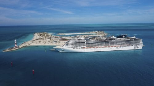 MSC Meraviglia Ocean Cay © AP Images for MSC Cruises