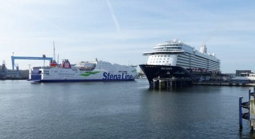 Mein Schiff 6 in Kiel © Port of Kiel