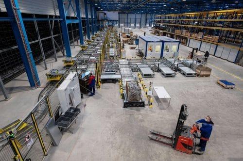 Das neue Logistikzentrum der Meyer Werft / © Meyer Werft