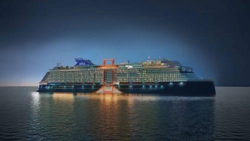 Celebrity Apex / Baugleiche Schwester der Celebrity Beyond © Celebrity Cruises
