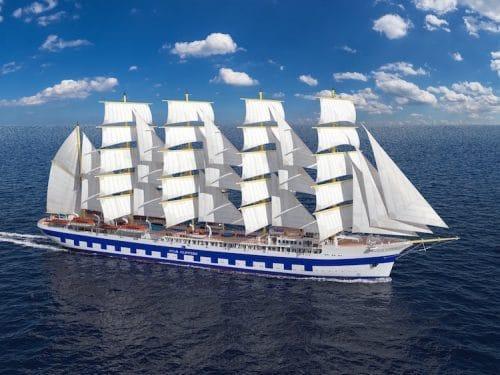 Das neue Segelschiff - Flying Clipper / © Star Clippers