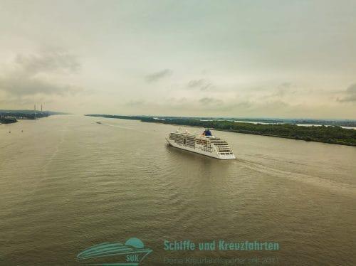 MS Europa 2 von Hapag Lloyd Cruises