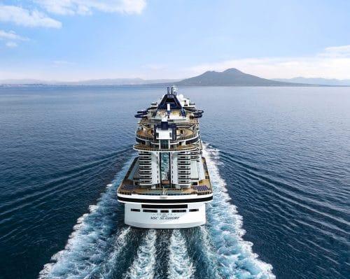 MSC Seashore Außenansicht / ©MSC Cruises